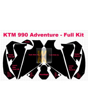 Komplettset KTM 990 Adventure