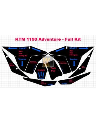 Komplettset KTM 1190 Adventure