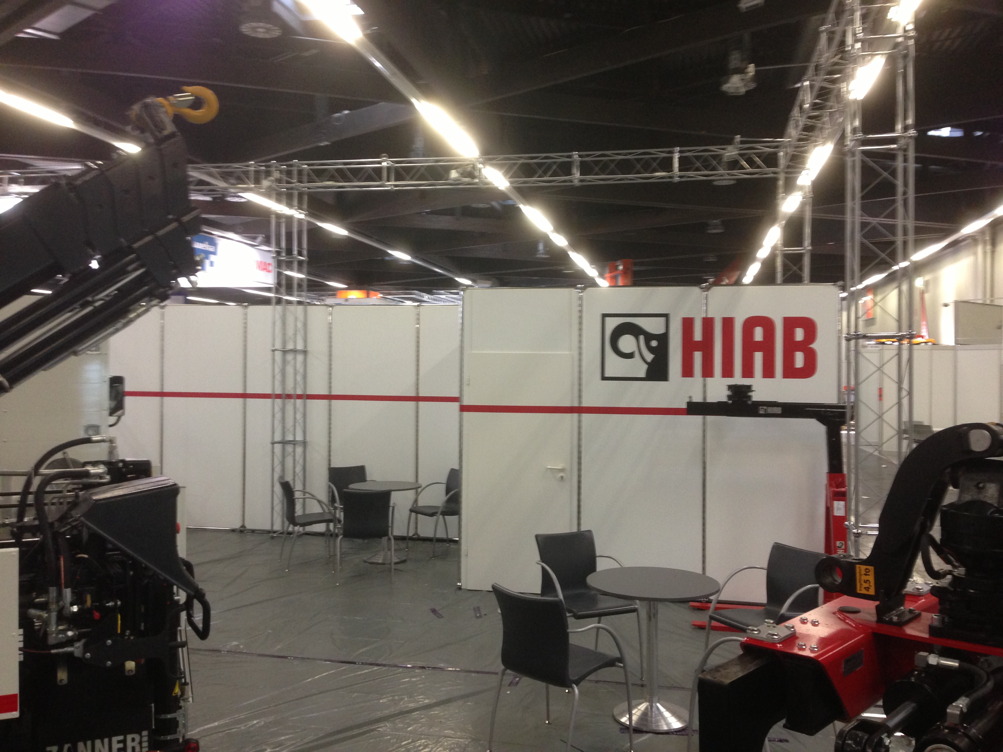 Messestand hiab