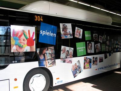 Stadtbus seitlich